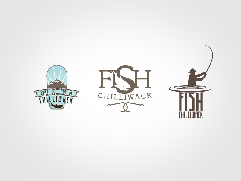 concept logos for Fish Chilliwack