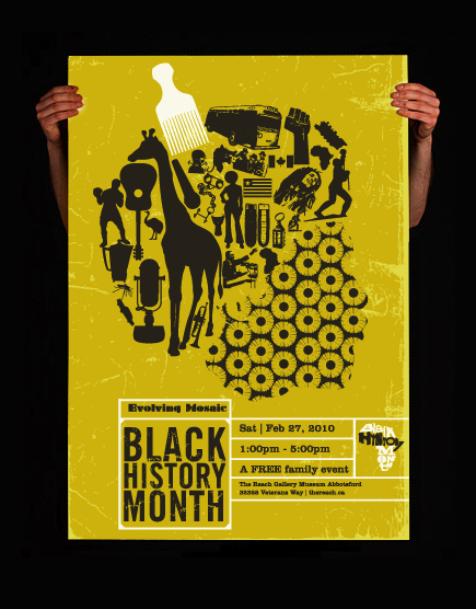 Black History Month Poster + Logo